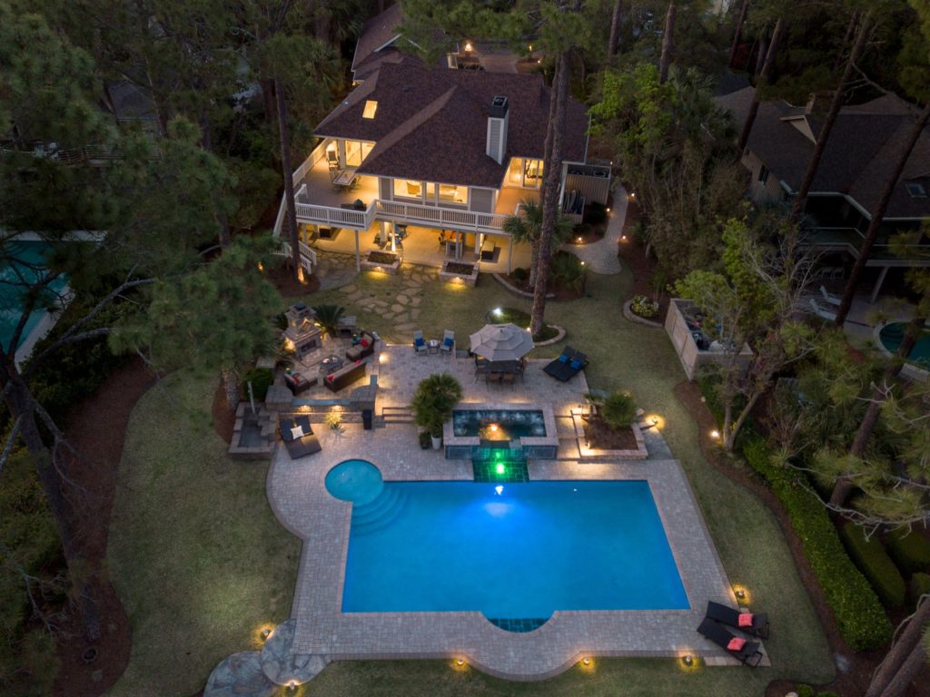 Sea Pines Luxury Home Features Beach Access & Waterfront Living